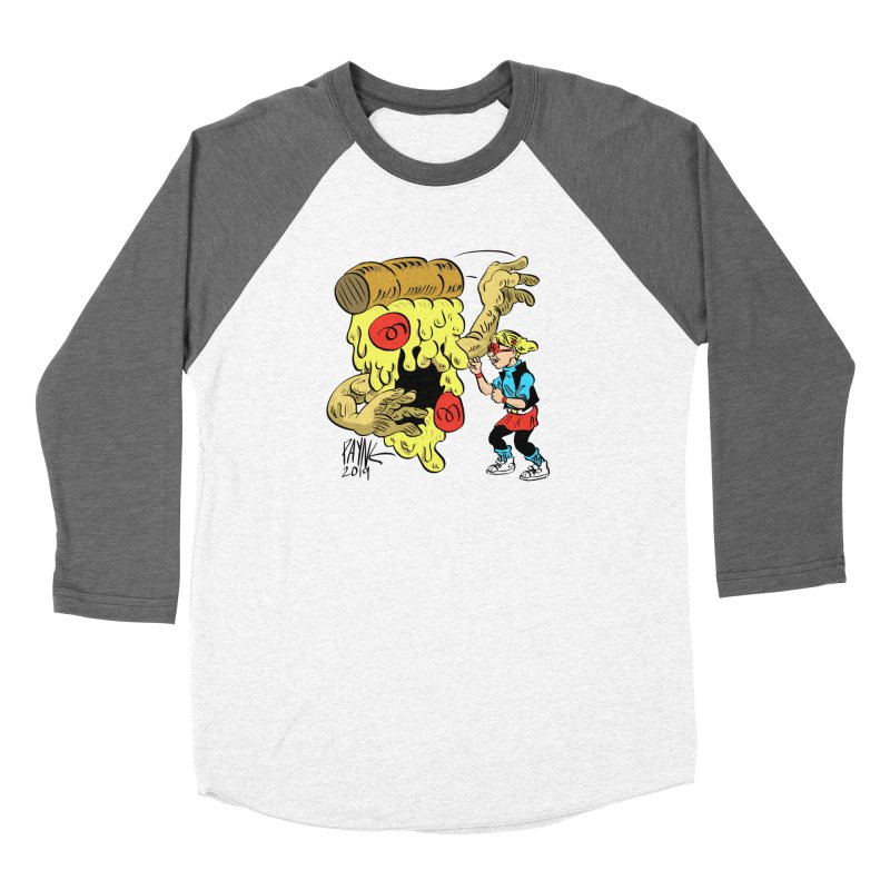 When the Pizza Gets Tough Men's Longsleeve T-Shirt by Syrup Pirates Shirt Shop