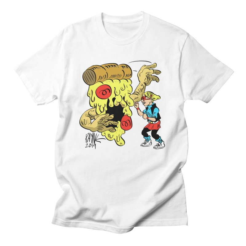 When the Pizza Gets Tough Men's T-Shirt by Syrup Pirates Shirt Shop