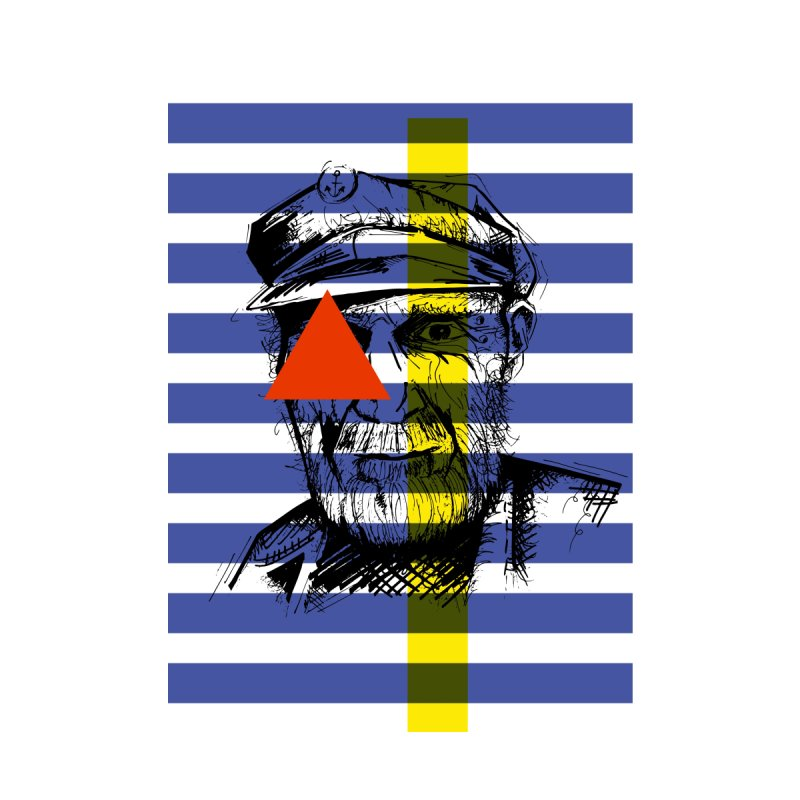 Sailor man Home Framed Fine Art Print by szjdesign's Artist Shop