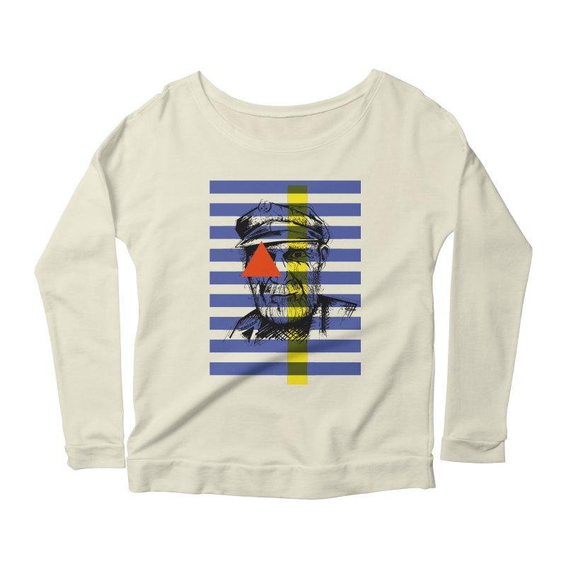 Sailor man (transparent png) Women's Longsleeve Scoopneck  by szjdesign's Artist Shop