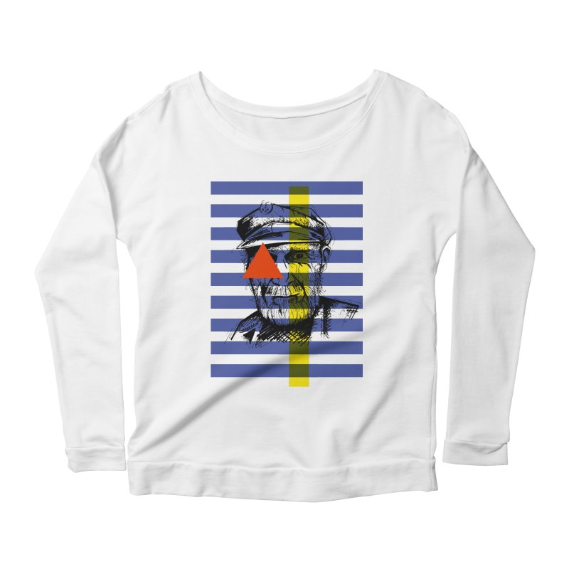 Sailor man (transparent png) Women's Longsleeve Scoopneck  by szjdesign's Artist Shop