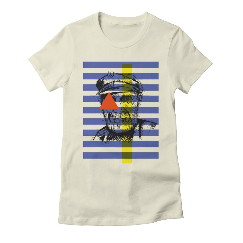 Sailor man (transparent png) Women's Fitted T-Shirt by szjdesign's Artist Shop