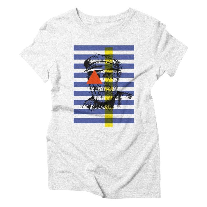 Sailor man (transparent png) Women's Triblend T-shirt by szjdesign's Artist Shop