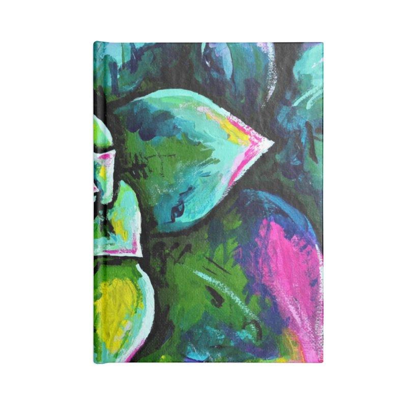 Houseleek #1 (wall art) Accessories Notebook by szjdesign's Artist Shop