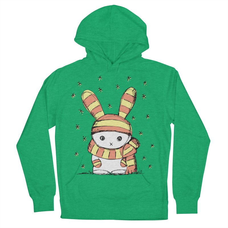 Winter bunny :) Women's Pullover Hoody by szjdesign's Artist Shop