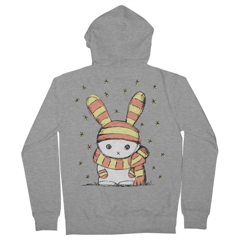 Winter bunny :) Women's Zip-Up Hoody by szjdesign's Artist Shop