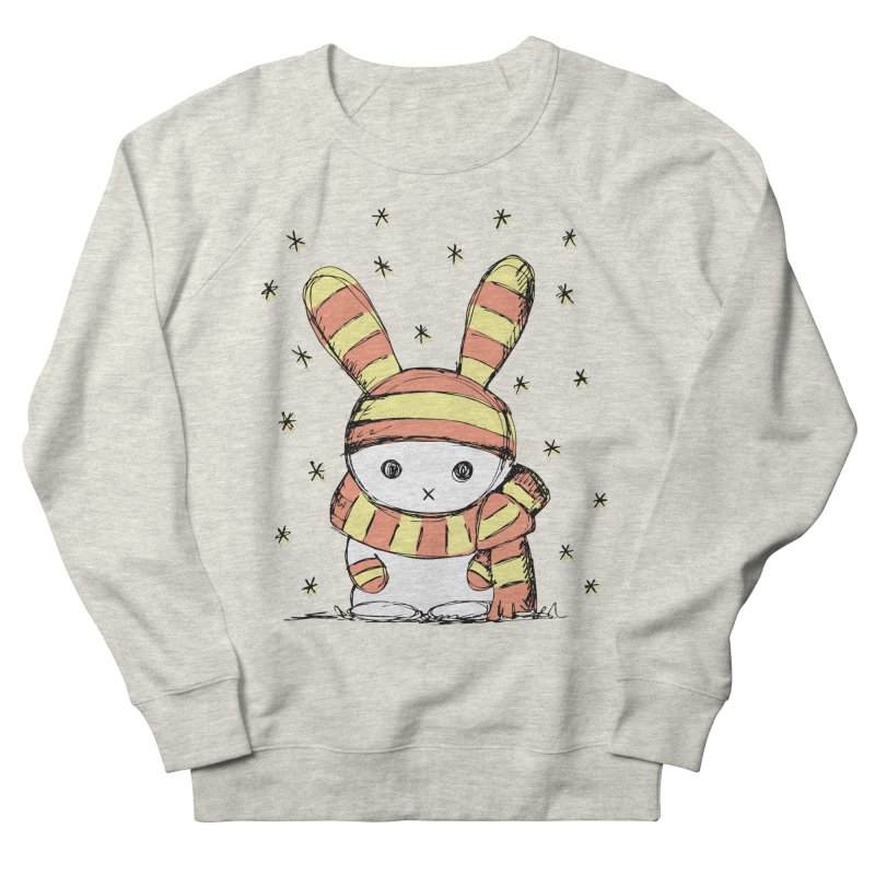 Winter bunny :) Women's Sweatshirt by szjdesign's Artist Shop