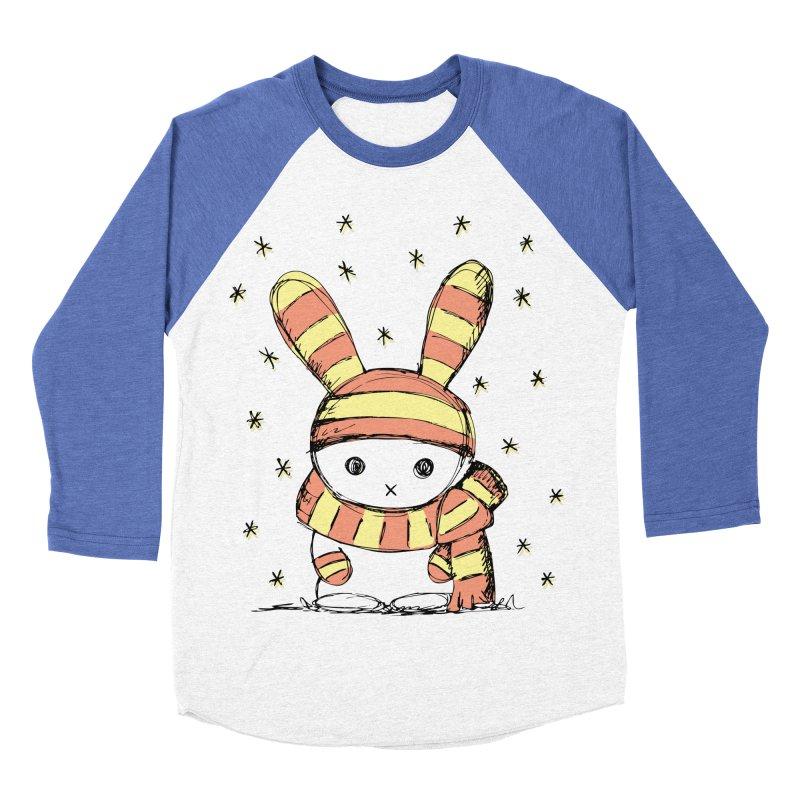 Winter bunny :) Women's Baseball Triblend T-Shirt by szjdesign's Artist Shop