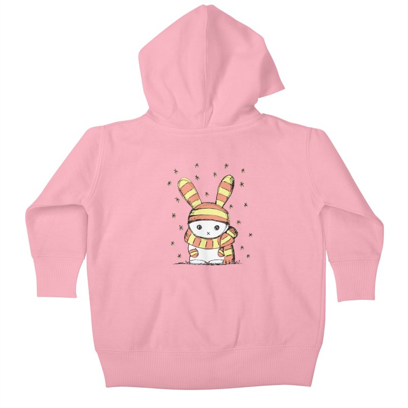 Winter bunny :) Kids Baby Zip-Up Hoody by szjdesign's Artist Shop