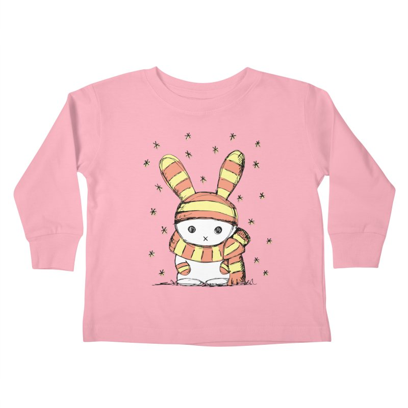 Winter bunny :) Kids Toddler Longsleeve T-Shirt by szjdesign's Artist Shop