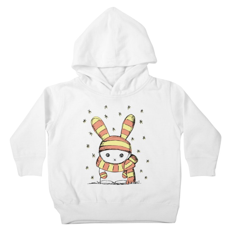 Winter bunny :) Kids Toddler Pullover Hoody by szjdesign's Artist Shop