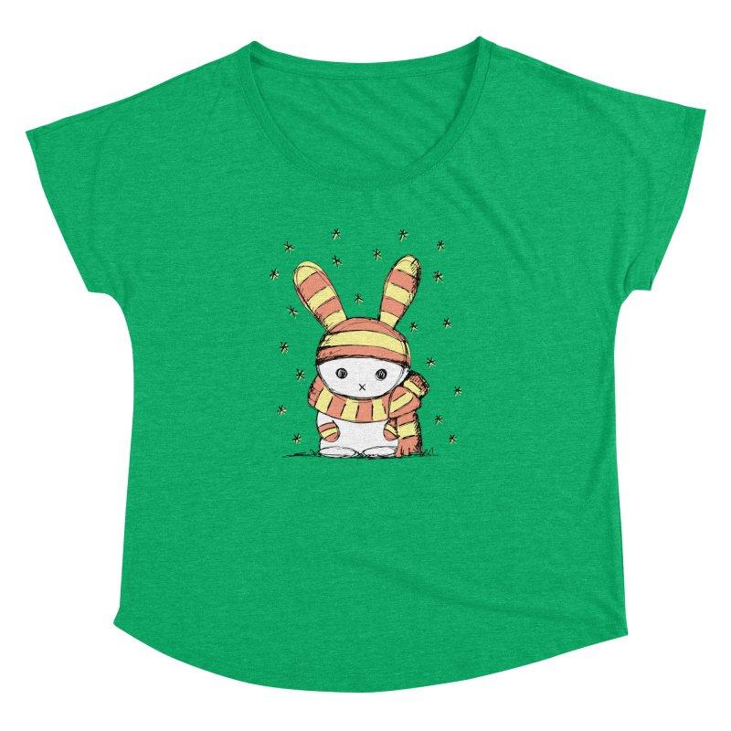 Winter bunny :) Women's Dolman by szjdesign's Artist Shop