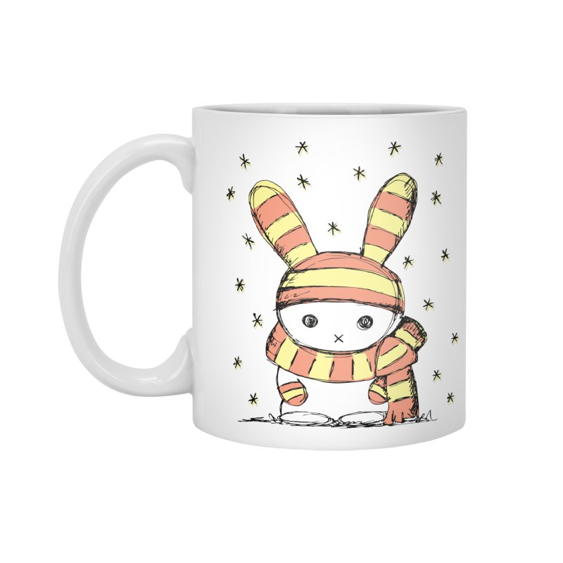 Winter bunny :) Accessories Mug by szjdesign's Artist Shop