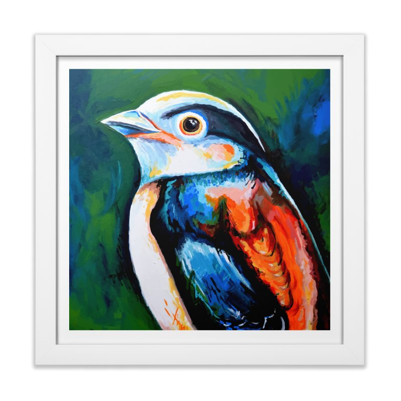 Birdy detail Home Framed Fine Art Print by szjdesign's Artist Shop