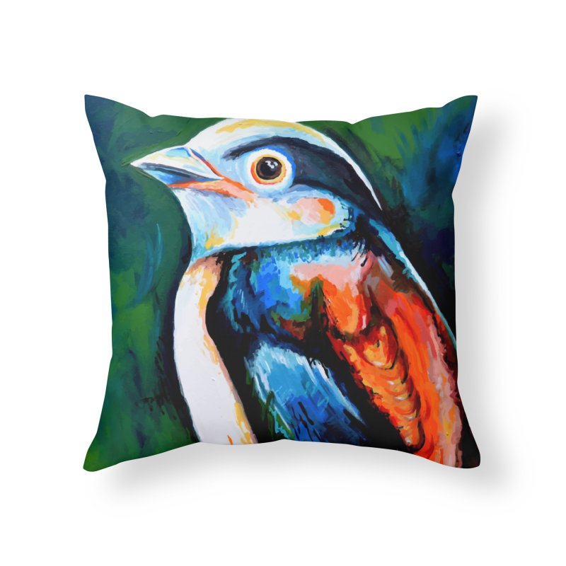 Birdy detail Home Throw Pillow by szjdesign's Artist Shop