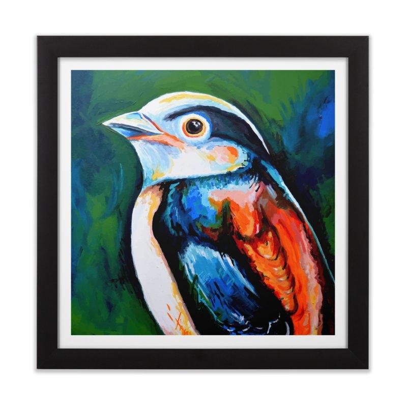 Birdy detail Home Framed Fine Art Print by szjdesign's Artist Shop