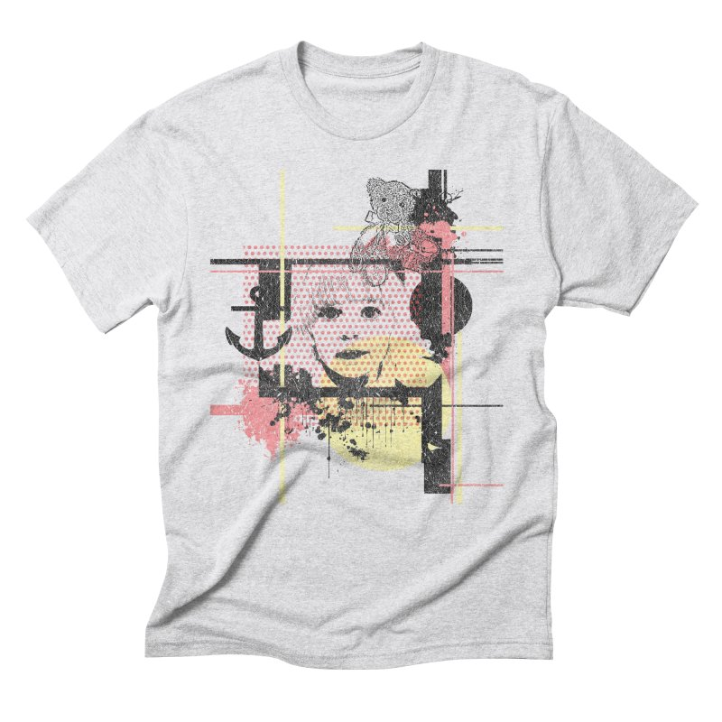 Naivity in Men's Triblend T-Shirt Heather White by szjdesign's Artist Shop