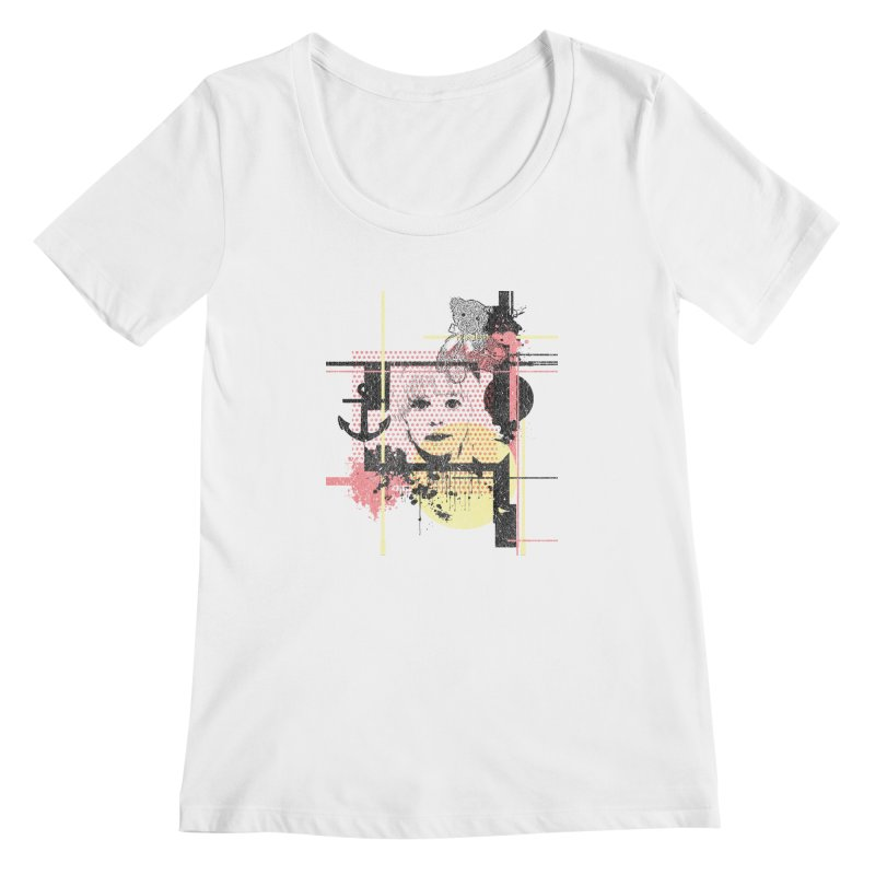 Naivity Women's Scoopneck by szjdesign's Artist Shop