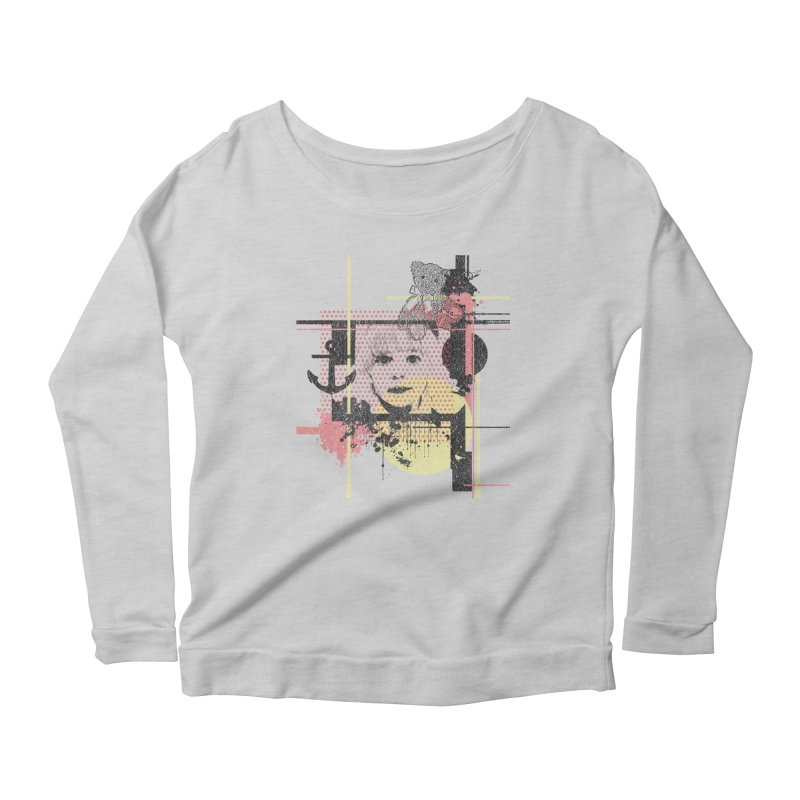 Naivity Women's Longsleeve Scoopneck  by szjdesign's Artist Shop