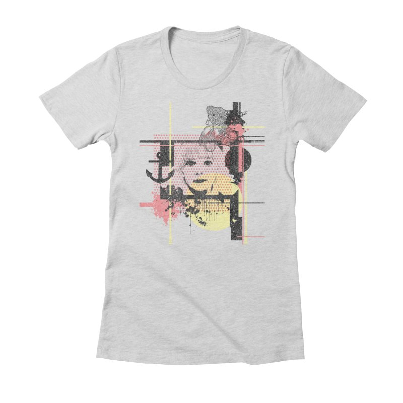 Naivity Women's Fitted T-Shirt by szjdesign's Artist Shop
