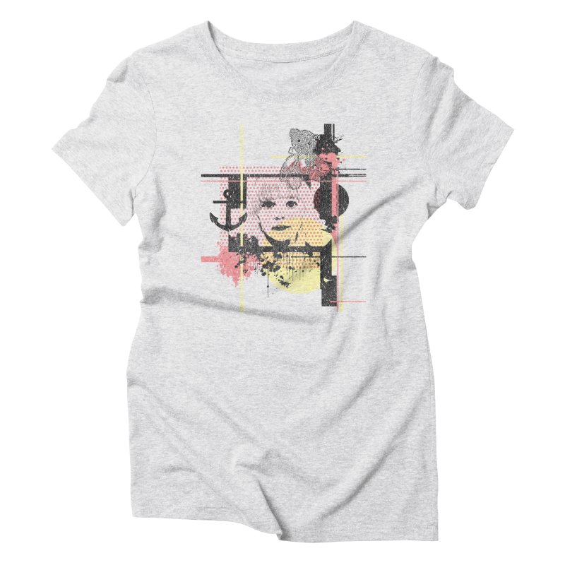 Naivity Women's Triblend T-Shirt by szjdesign's Artist Shop