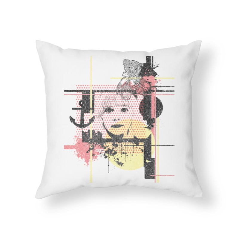 Naivity Home Throw Pillow by szjdesign's Artist Shop