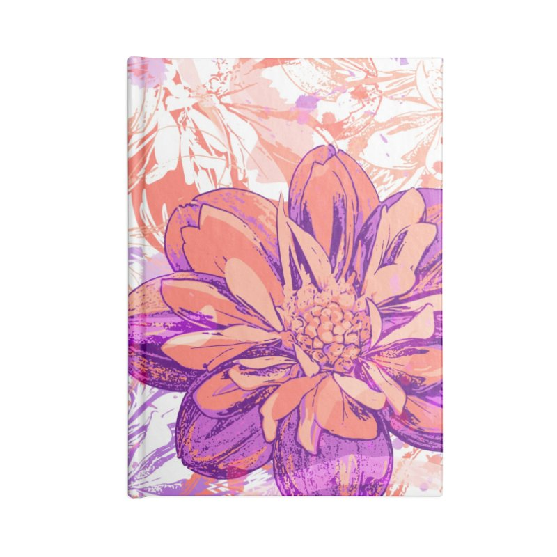 Lovely flower Accessories Notebook by szjdesign's Artist Shop
