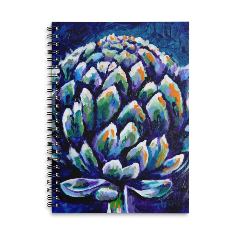 My Artichoke Accessories Notebook by szjdesign's Artist Shop