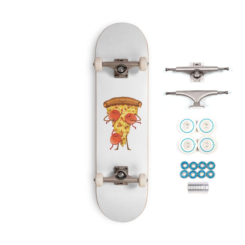 Mamas Pizza Accessories Skateboard by T2U