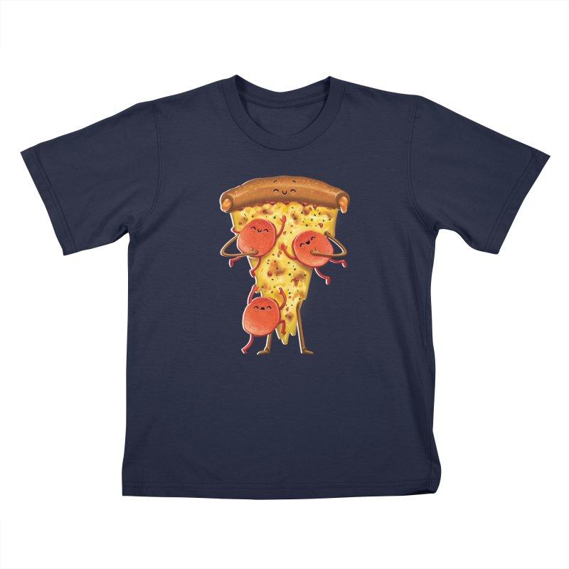 Mamas Pizza Kids T-Shirt by T2U