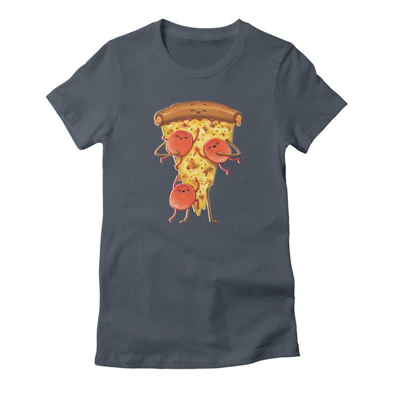 Mamas Pizza Women's T-Shirt by T2U