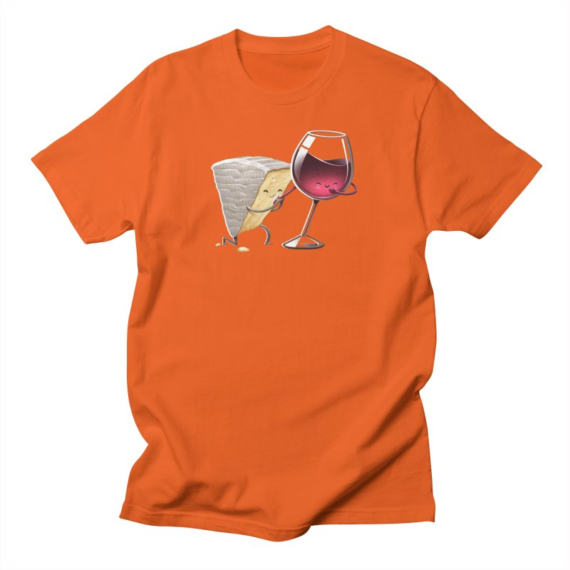 Wine and Cheese Women's T-Shirt by T2U
