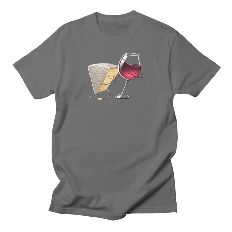 Wine and Cheese Men's T-Shirt by T2U