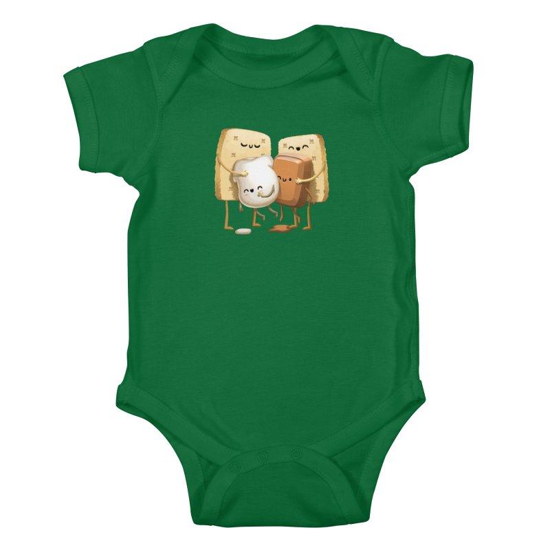 S'more Love Kids Baby Bodysuit by T2U