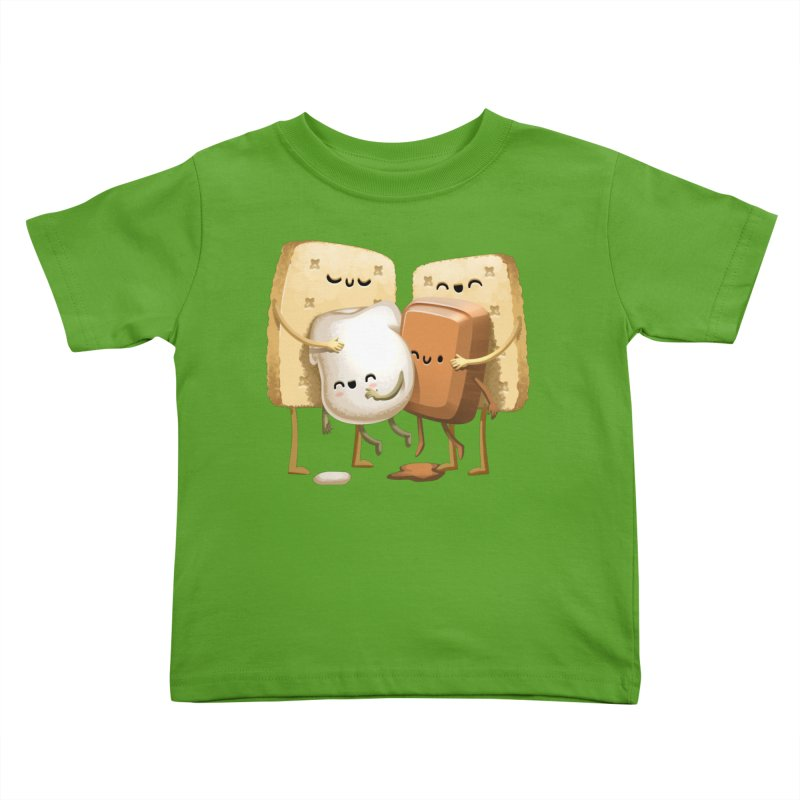 S'more Love Kids Toddler T-Shirt by T2U
