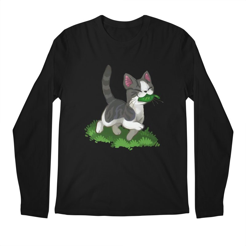 Sweet-Chi! Men's Longsleeve T-Shirt by Kathleen Morrill, Tabbloza Art and Designs