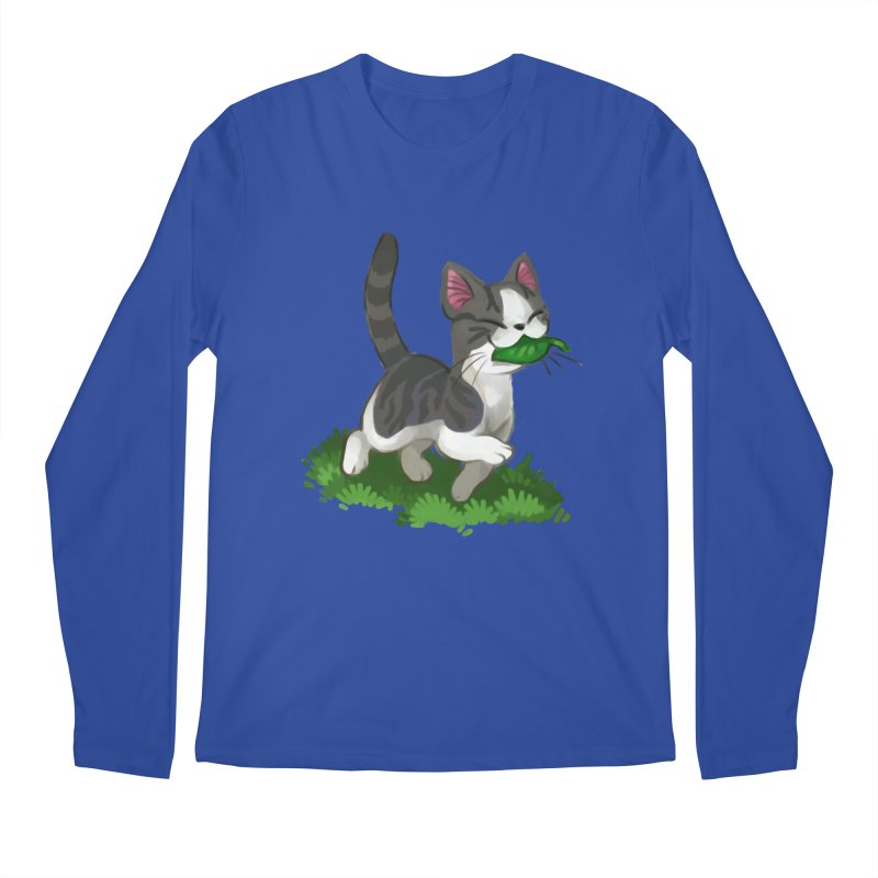 Sweet-Chi! Men's Regular Longsleeve T-Shirt by Kathleen Morrill, Tabbloza Art and Designs