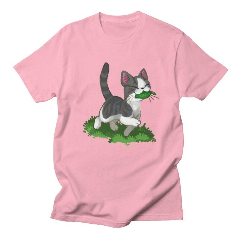 Sweet-Chi! Men's Regular T-Shirt by Kathleen Morrill, Tabbloza Art and Designs