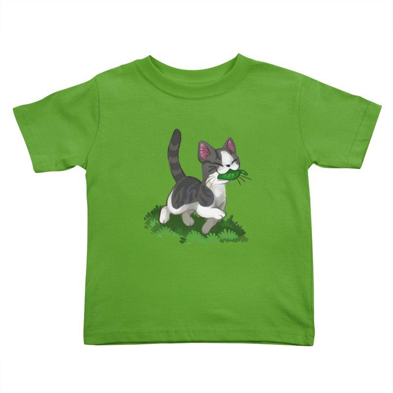Sweet-Chi! Kids Toddler T-Shirt by Kathleen Morrill, Tabbloza Art and Designs