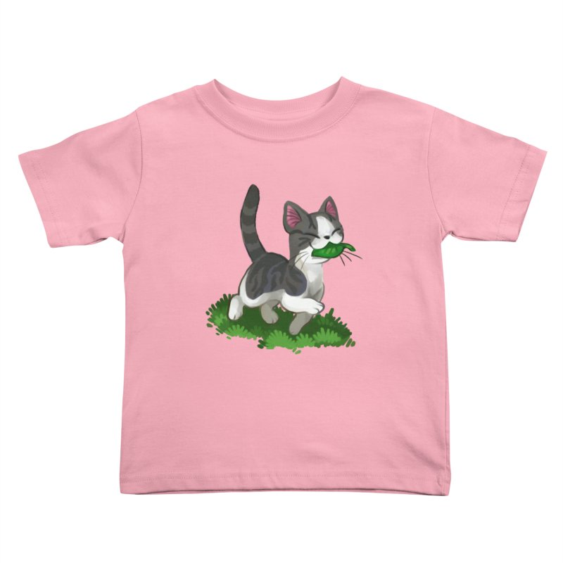 Sweet-Chi! Kids Toddler T-Shirt by Kathleen Morrill, Tabbloza Art and Designs