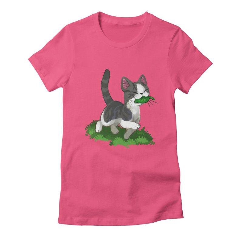 Sweet-Chi! Women's T-Shirt by Kathleen Morrill, Tabbloza Art and Designs