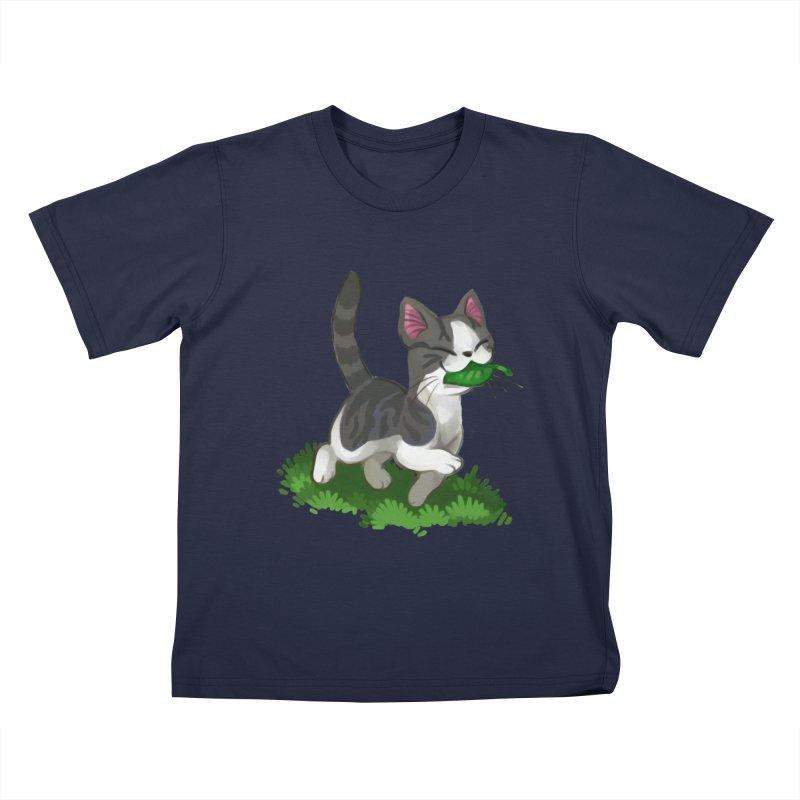 Sweet-Chi! Kids T-Shirt by Kathleen Morrill, Tabbloza Art and Designs
