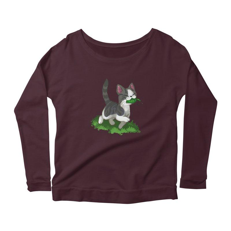 Sweet-Chi! Women's Longsleeve T-Shirt by Kathleen Morrill, Tabbloza Art and Designs