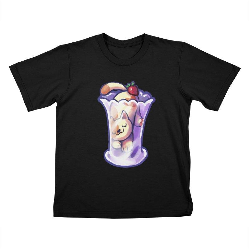 Parlez-vous Parfait? Kids T-Shirt by Kathleen Morrill, Tabbloza Art and Designs