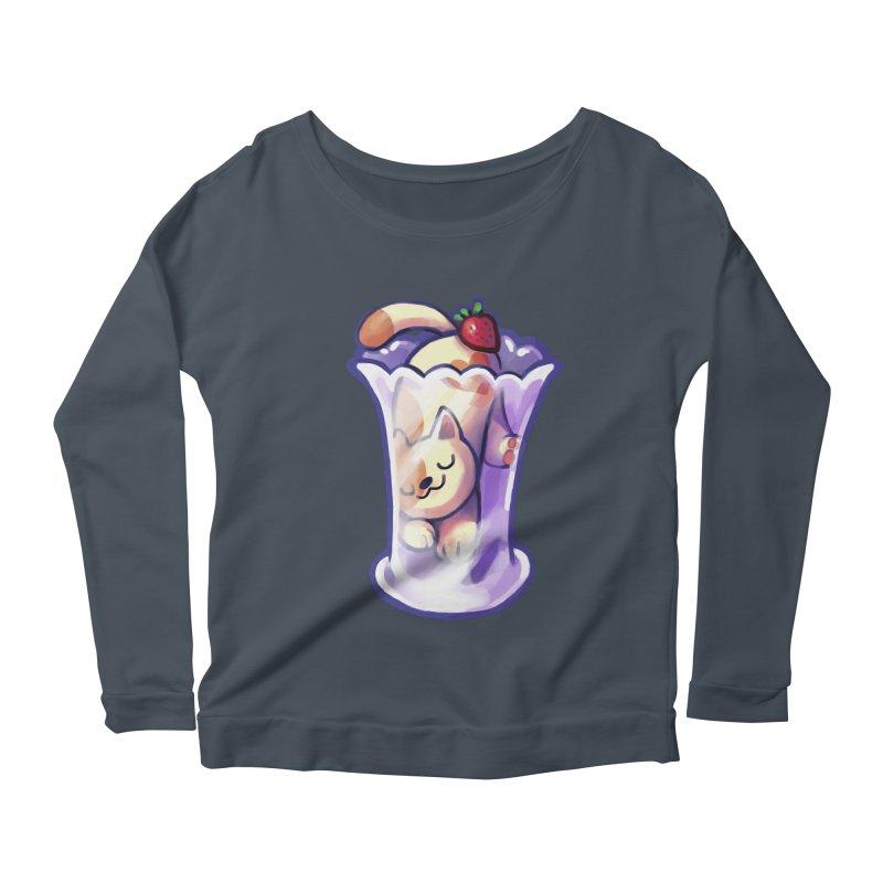 Parlez-vous Parfait? Women's Scoop Neck Longsleeve T-Shirt by Kathleen Morrill, Tabbloza Art and Designs