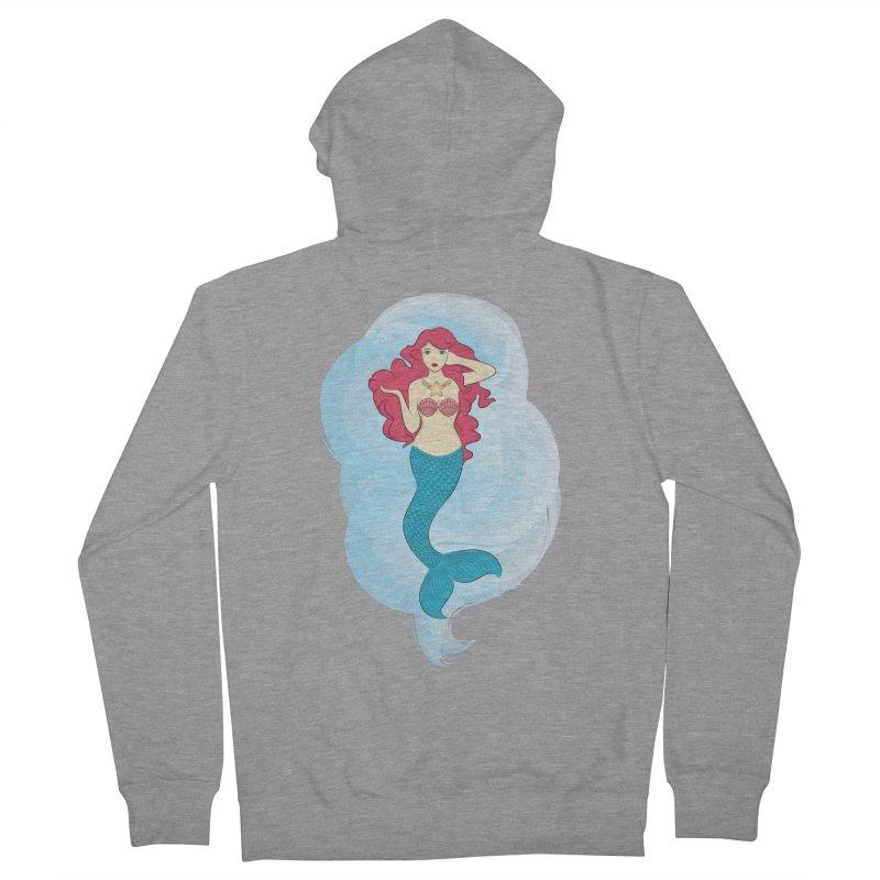 Mermaid Women's Zip-Up Hoody by tabyway's Artist Shop