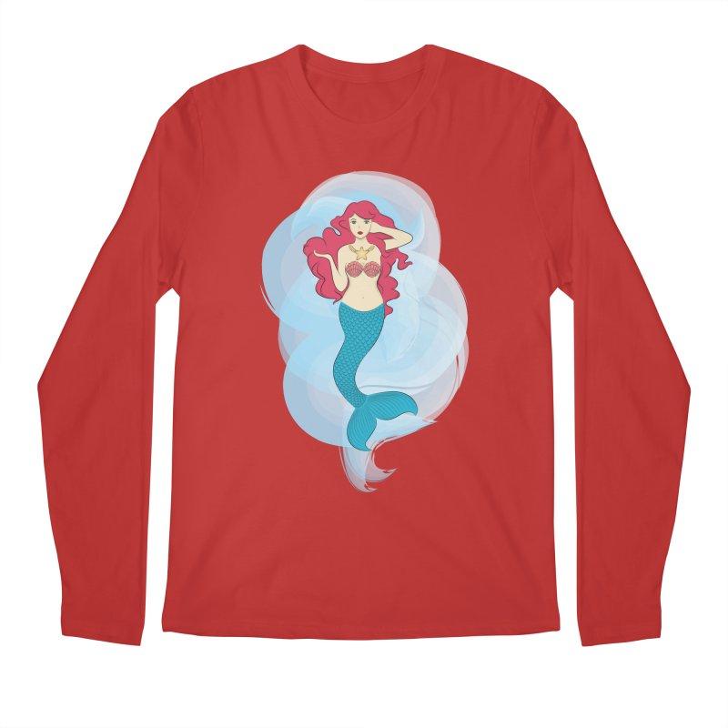 Mermaid Men's Longsleeve T-Shirt by tabyway's Artist Shop
