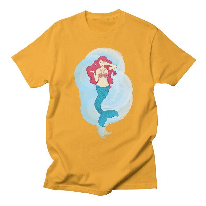 Mermaid Men's T-shirt by tabyway's Artist Shop
