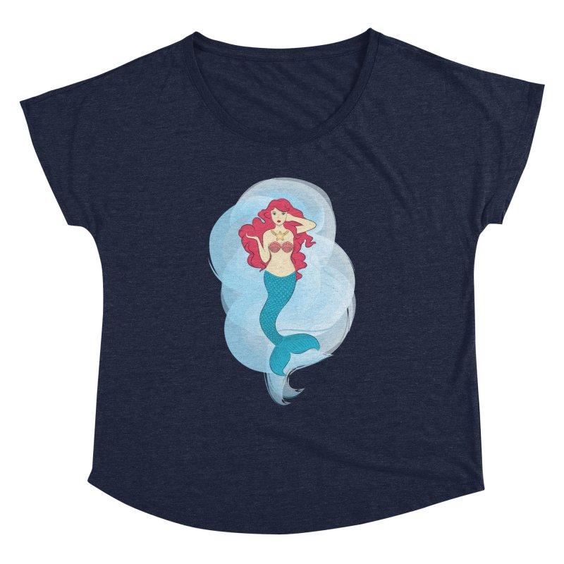 Mermaid Women's Dolman by tabyway's Artist Shop