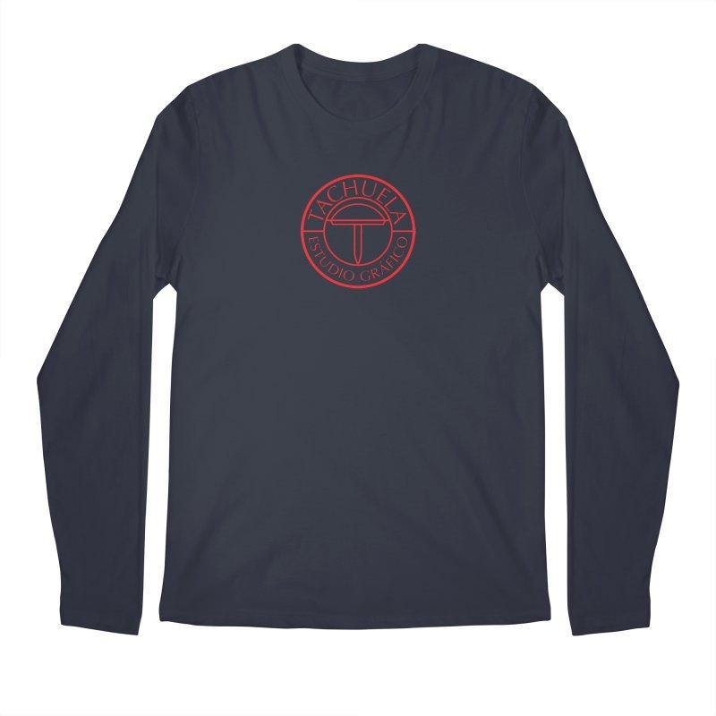 Tachuela Red Men's Longsleeve T-Shirt by Tachuela's Shop